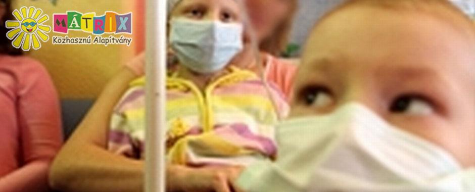 daganatos gyermekek, daganat terápia, adó 1 százalék